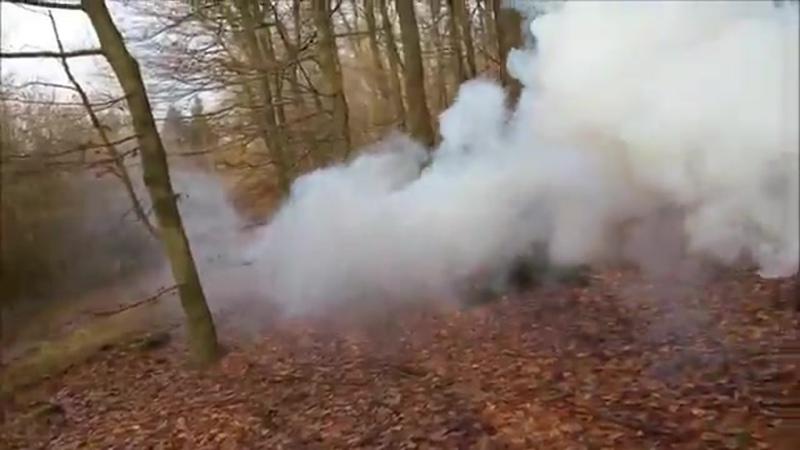 Smoke fountain JFS-1 Белый