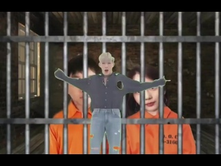 bruh look who at jail😂		#MonstaX7ShineForever	#몬엑_행복해지길_바래