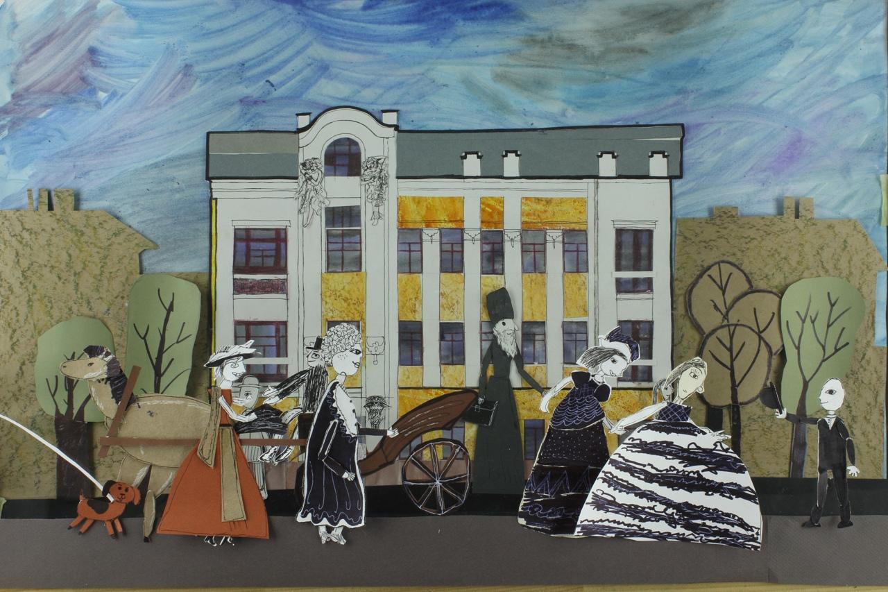 Мультфильм о здании XVIII века выпустила саратовская студия «Лаврушка»