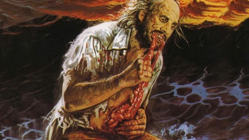 Антропофагус Антропофаг Antropophagus Anthropophagus The Grim Reaper 1980 Перевод Акоп Акопян VHS