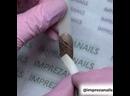 ImprezaNails /МК Стемпинг /Литье 👉🏻бронзовая втирка /Гнущиеся ленты /Геометрия на ногтях /Ровные линии /Nailshop /Мк видео