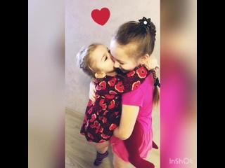 Наши любимые дочурки 👭 ❤️💜💖!!!!!!