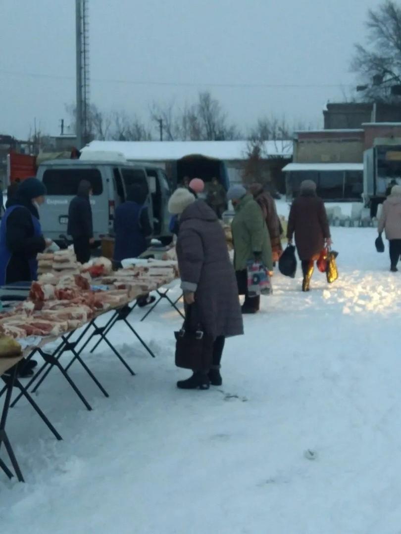 На городском рынке состоялась сельскохозяйственная ярмарка
