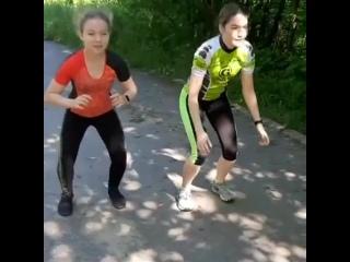 "Проект ""Тренируйся дома"". Триатлон. Видео 10"