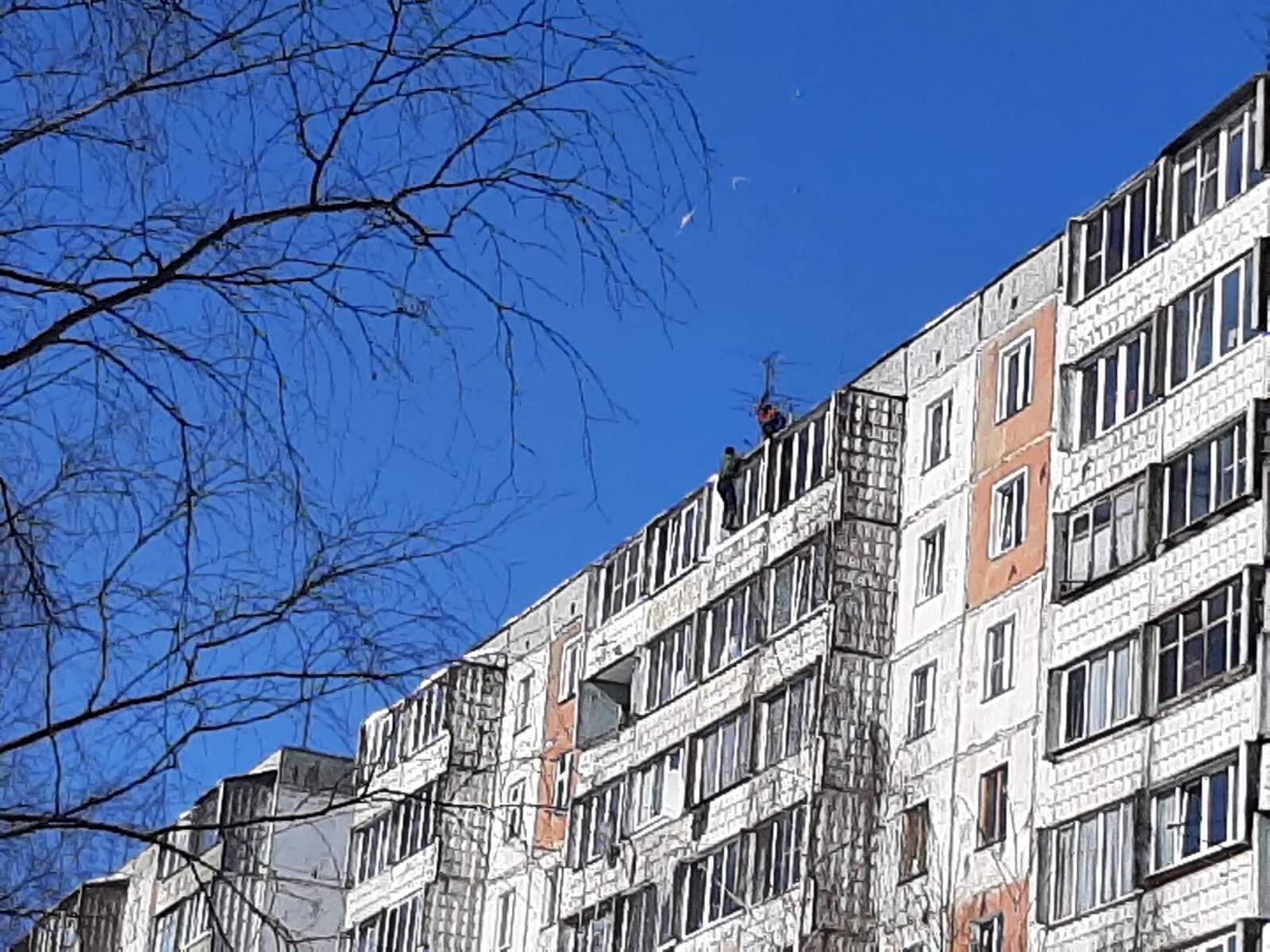 Улица М Конева дом 5 . Очистка