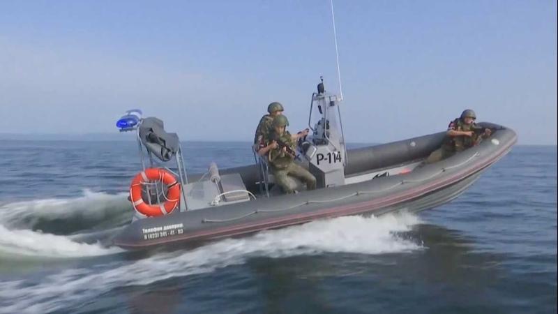 Совместное учение военной полиции и противодиверсионного отряда