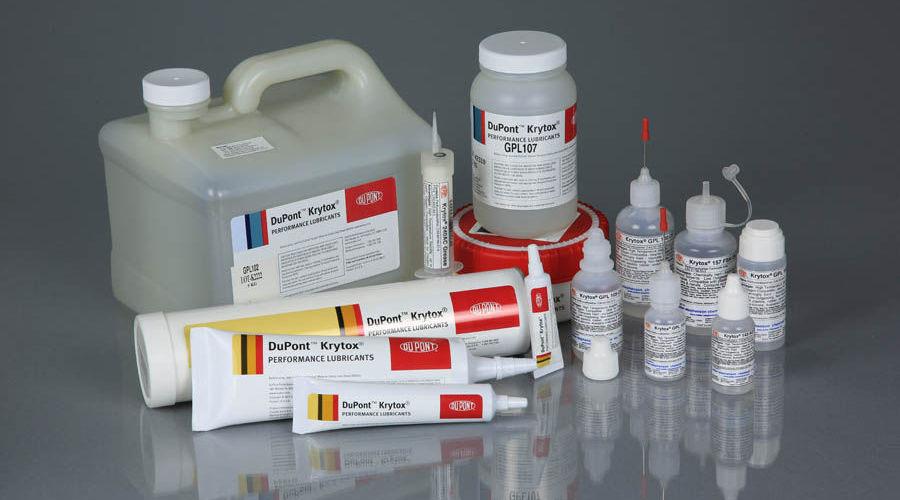 Смазки Dupont Krytox