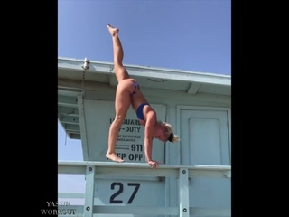 SLs AMAZING Handbalancer  Gymnastics- MORGAN ROSE MORONEY