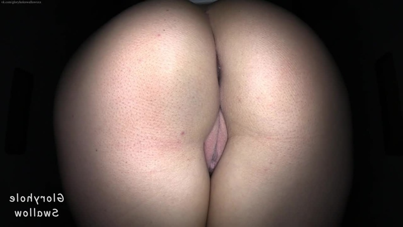 Gloryhole Swallow - Scarlett 1st blowjob oral sex amateur big black dick cock suck Interracial creampie sloppy BBC porn sissy