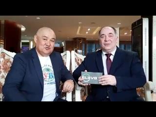 Булат Томатаев и Алексей Борисов