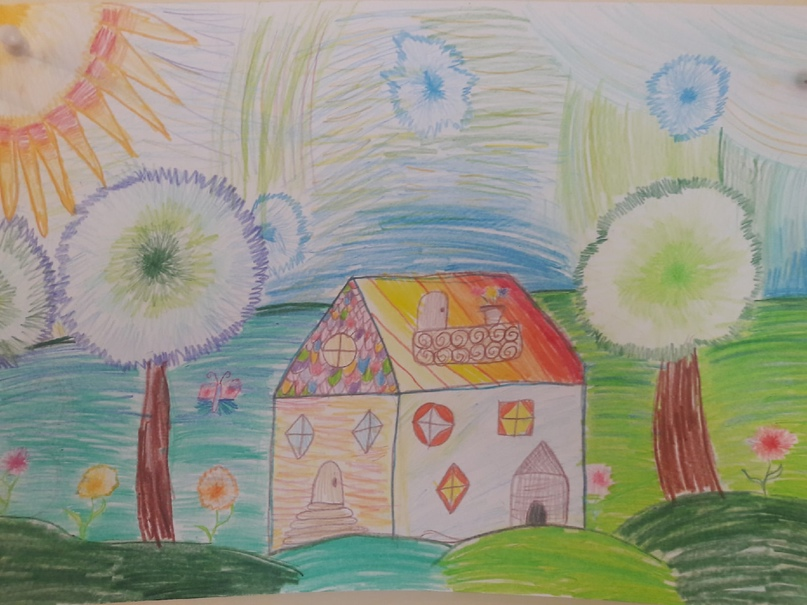 Детские рисунки YXJQTzpin6k