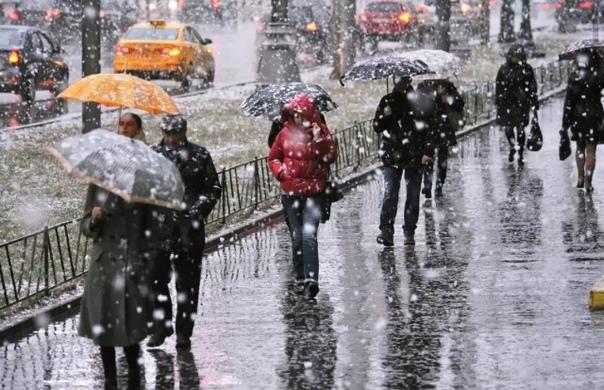 Антициклон принесет в регион дождь, мокрый снег и ...