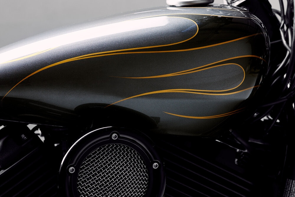 Augment Motor Works: чоппер Harley-Davidson Street 500