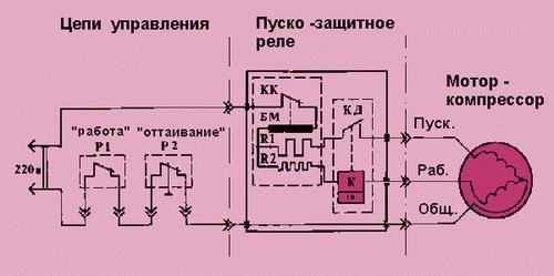 Как подключить мотор холодильника правильно, изображение №2