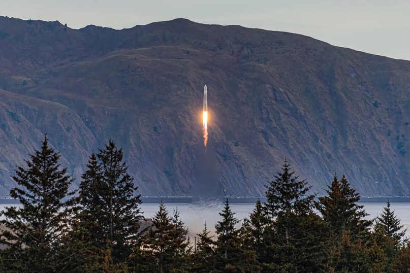 Первая из серии трёх итераций ракеты Astra взлетает в сентябре 2020 года с космодрома компании в Кодьяке, штат Аляска. Фото: Джон Краус / Astra