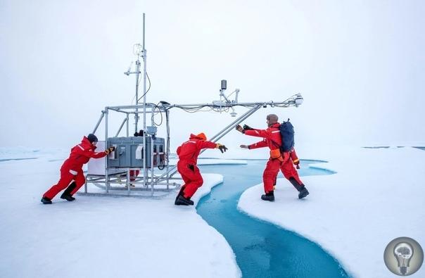 Лучшие фото из мира науки за 2020 год по версии журнала Nature. Ч.-2 1. Величие Севера. Исследователи участники крупнейшей арктической экспедиции замеряют показатели температуры, влажности и