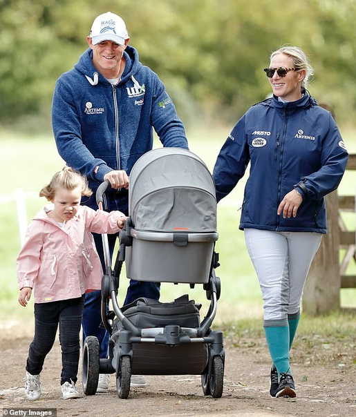 Беби-бум в королевской семье. Внучка Елизаветы II Зара Тиндолл ждет третьего ребенка