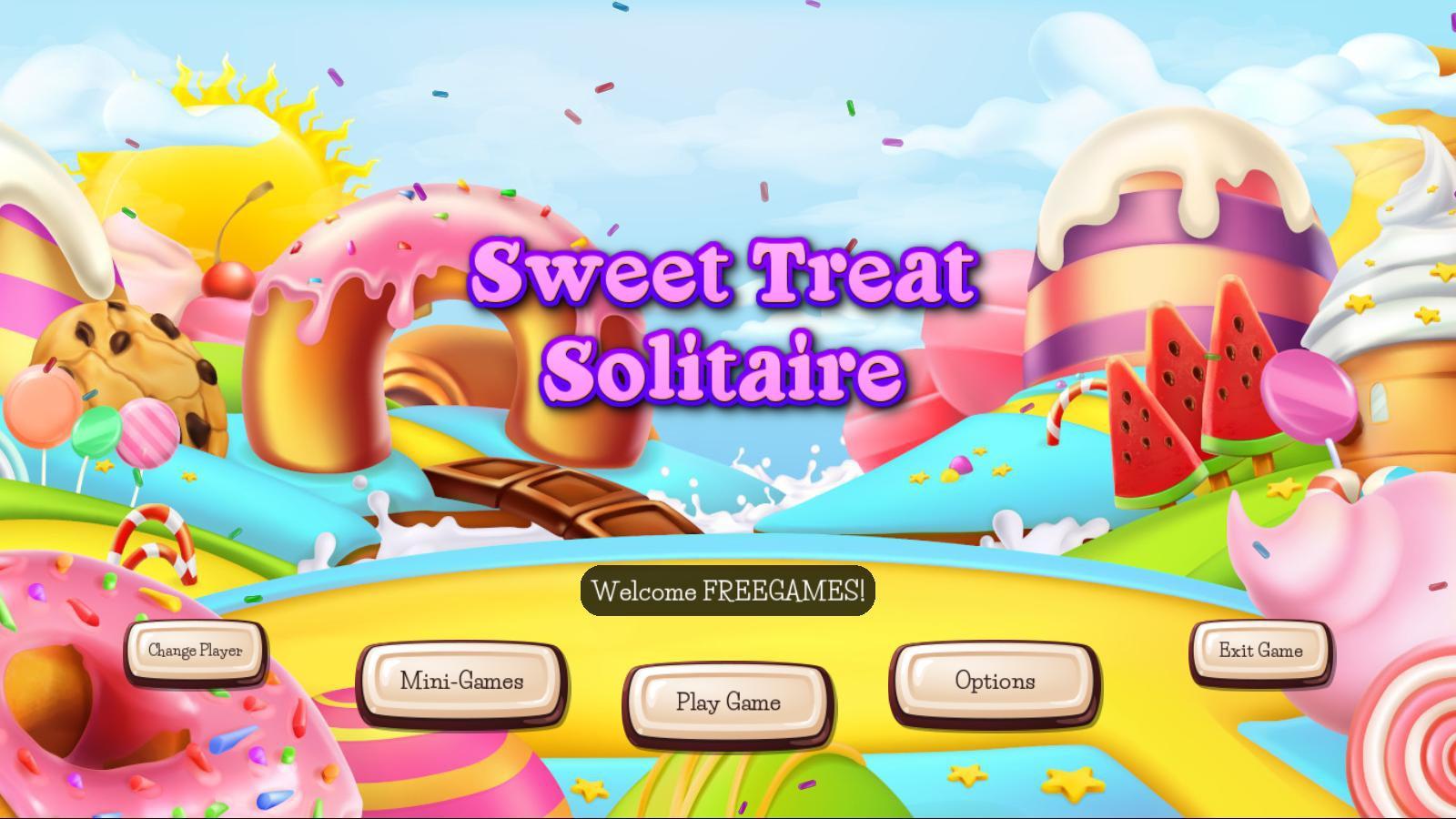 Пасьянс Сладкое угощение | Sweet Treat Solitaire (En)