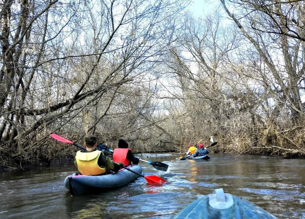 Афиша Самара Сплав по реке Лесная Шешма 17 - 18 апреля