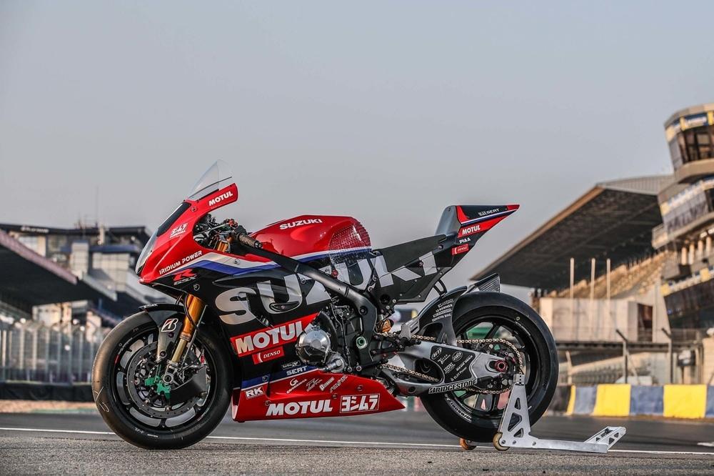 Гоночный мотоцикл SERT Suzuki GSX-R1000 2021