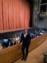 Виталий Денисов на спектакле