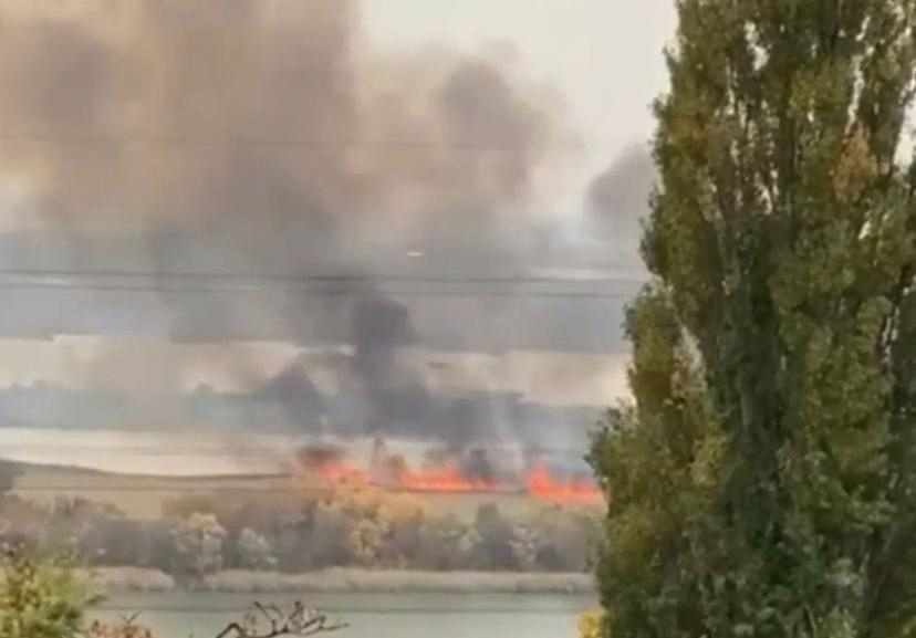 Ландшафтный пожар разгорелся на левом берегу Дона    Сегодня, 19 октября, на левом берегу Дона... [читать продолжение]