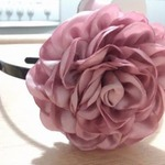 tepleko.ru Розы в технике канзаши. Мастер-класс