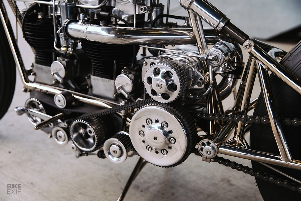 Hazan Motorworks: кастом Velocette MAC