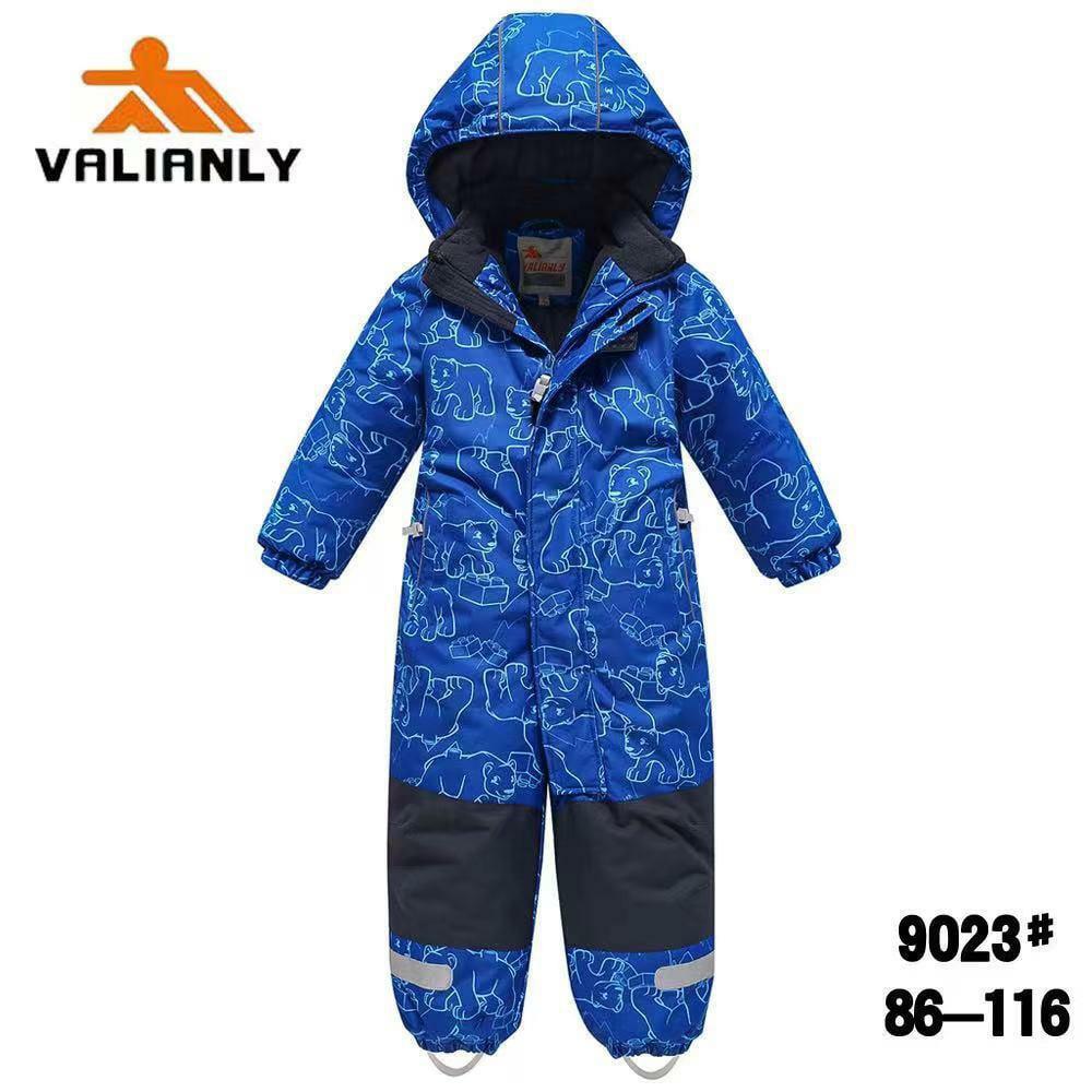 Зимний комбинезон Valianly 9023 синий