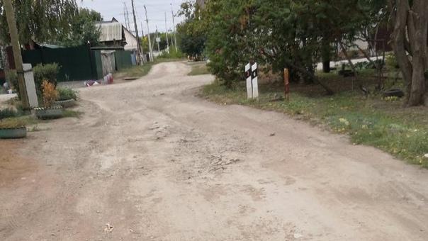 Жители проулка в Бузулуке все еще ждут обещанного ...