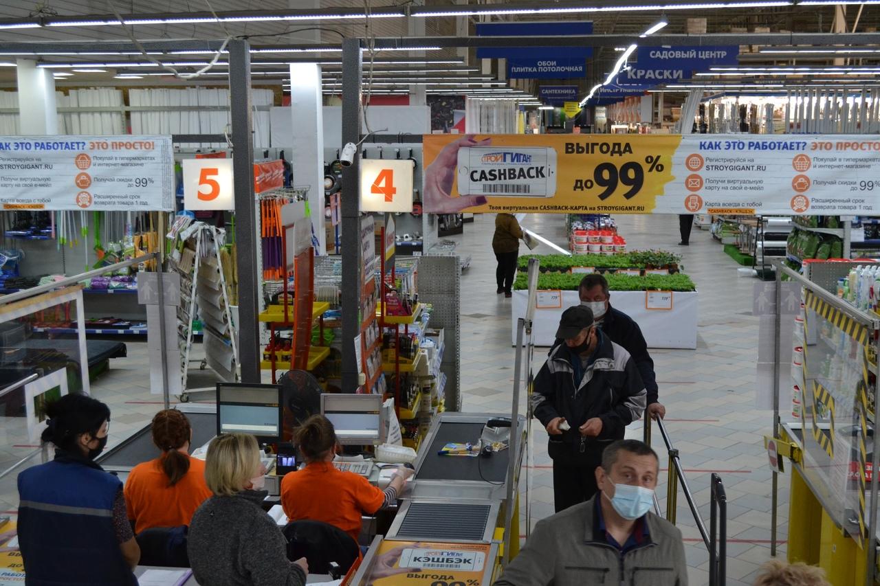В Курске проверили 40 магазинов на соблюдение масочного режима