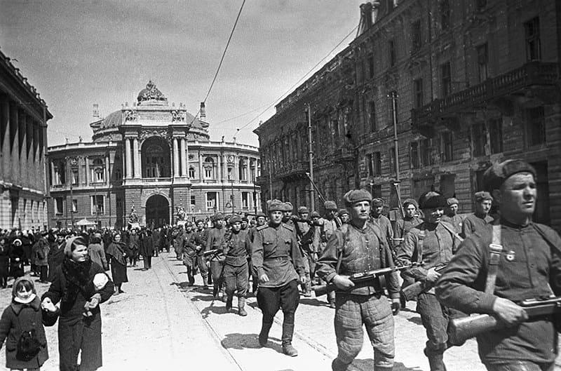 77 лет назад, 10 апреля 1944 года, в ходе Великой Отечественной войны от немецко-фашистских войск была освобождена Одесса