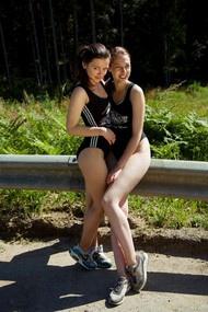 Audrey & Isabella