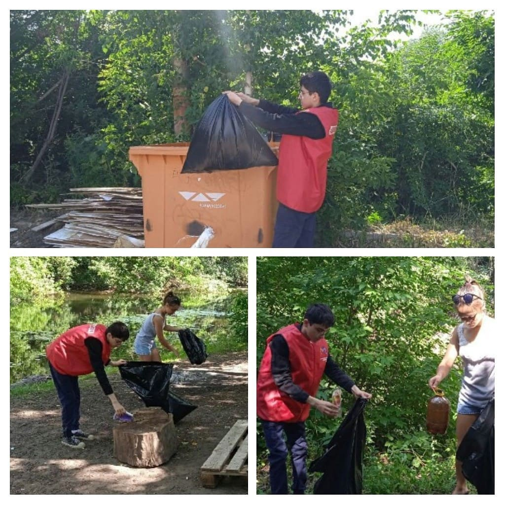 Волонтёры «Молодёжи плюс» провели экологическую акцию