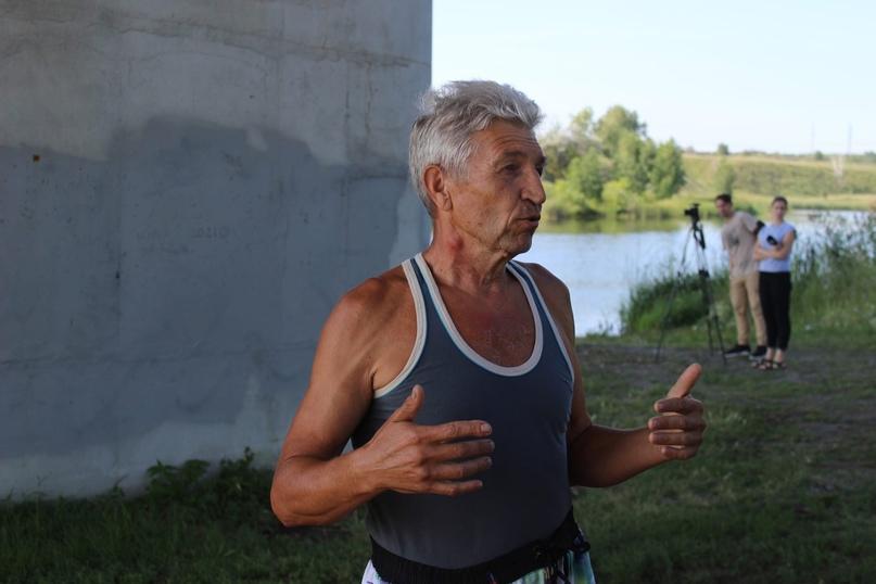 🥳 13 километров — такую дистанцию вчера проплыл троичанин Аббасов Шамиль Назырович
