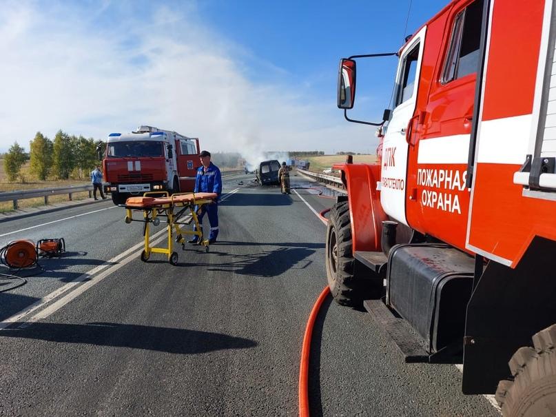 """На трассе """"Уфа-Оренбург"""" в страшном ДТП с Газелью и фургоном погибли четыре человека (18+)"""