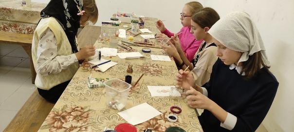 3-го октября учились создавать красоту витражными красками