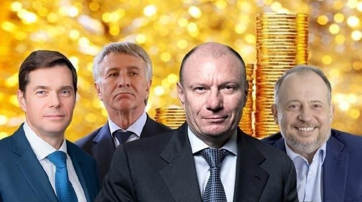Состояние 24 богатейших россиян превысило рублевые сбережения всего населения страны.