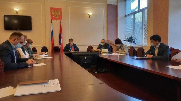 Глава города провел заседание оперативного штаба п...