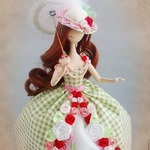 Элегантные красавицы. Корейские куклы тряпиенсы