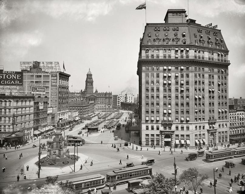 HD-фотографии городов США сделанные в 1900-1915 годах, изображение №23