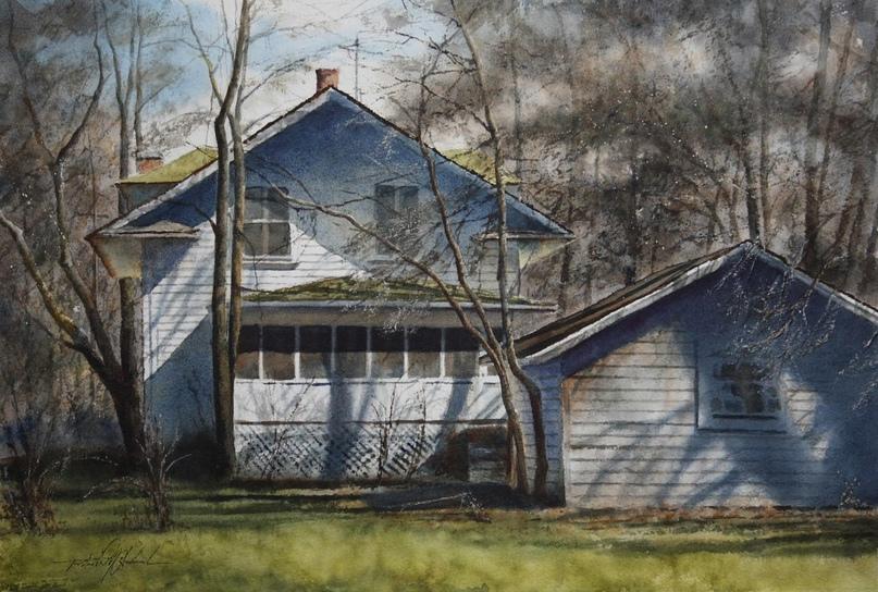 Американский художник-акварелист. Robert McFarland, изображение №34
