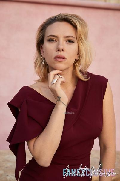 Scarlett Johansson The Hollywood Reporter (2019)
