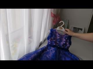 Как легко сшить нарядное платье для девочки.