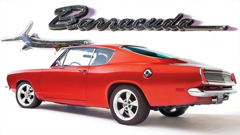 ИСТОРИЯ Плимут БАРРАКУДА Plymouth Barracuda 1964 1969 Часть 1