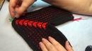 Вязание спицами тапочки следки