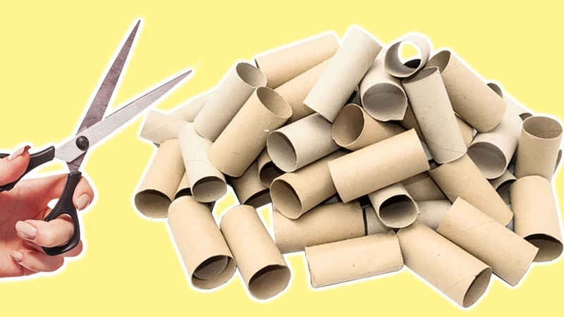 6 Ways To ReUseRecycle Empty Tissue Roll (Compilation)