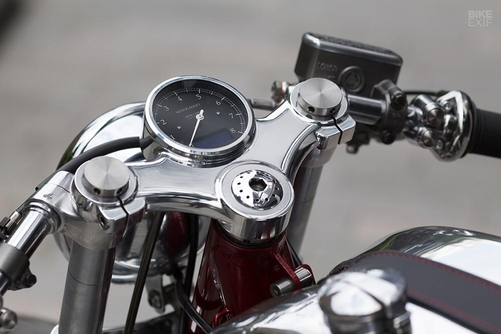 Foundry Motorcycle: кафе рейсер Triton