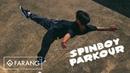 SPIN CITY Spinboy parkour in Bangkok Team Farang