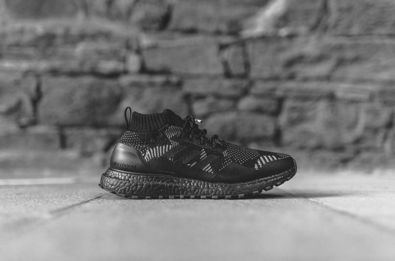 Kith x Nonnative x Adidas Ultra Boost Mid Sneaker Shoe